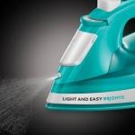 Fier de calcat Russell Hobbs Light & Easy Brights 24840-56, Putere 2400 W, 240 ml, Jet de abur 90 g/min, Albastru