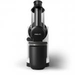 Storcator de fructe cu presare la rece Philips HR1887/80, Putere 150 W, Recipient pulpa 0.75 l, Tub XL, QuickClean, Negru