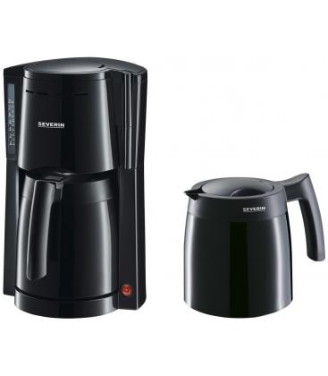 Cafetiera Severin KA 9234, Putere 800 W, Capacitate 1 l, Indicator nivel apa, Negru