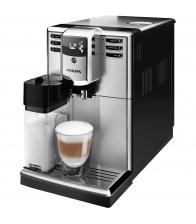 Espressor automat Philips EP5365/10, 1850 W, 1.8l, Carafa lapte integrata, 5 setari, 5 trepte macinare, Aqua Clean, Argintiu