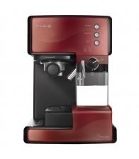 Espressor cafea Breville Prima Latte VCF046X-DIM, Putere 1050 W, 1.5 l, Cafea macinata, Capsule, Rosu
