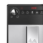 Espressor automat Melitta Purista F230-101, 1400 W, 1.2 l, 3 setari intensitate, Sistem Aroma Extraction, Argintiu