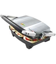 Sandwich-Maker Breville Panini VST025X-DIM, Putere 1000 W, Placi antiaderente, Inaltime reglabila, Argintiu