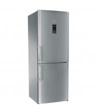 Combina frigorifica Hotpoint ENBGH19223FW,  Clasa A+, Capacitate 444 l, No Frost, H 195.5 cm, Inox