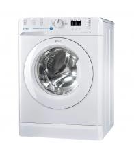 Masina de spalat rufe INDESIT BWA 71252 W, Clasa A++, Capacitate 7 kg, 1200 rpm, Push & Wash, Alb