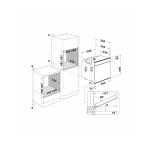 Cuptor incorporabil Whirlpool W7 OM5 4S P, Clasa A+, Capacitate 73 l, Maxi Cook, Turbo Grill, Autocuratare pirolitica, Argintiu