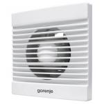 Ventilator de baie Gorenje BVN100WS, Putere 15 W, Flux de aer 70 m3/h, 2400 rpm, Alb