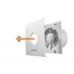Ventilator de baie Gorenje BVX100WS, Putere 15 W, Flux de aer 70 m3/h, 2400 rpm, Alb