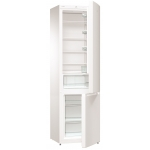 Combina frigorifica GORENJE RK621PS4, Clasa A+, Capacitate 353 l, FrostLess, Argintiu