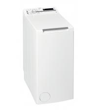 Masina de spalat rufe cu incarcare verticala Whirlpool TDLR 6230SS, Clasa D, Capacitate 6 Kg, 6th Sense, Freshcare+, Alb