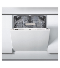 Masina de spalat vase incorporabila Whirlpool WKIO 3T123 6.5P, Clasa A++, Capacitate 14 seturi, 6th Sense, Alb