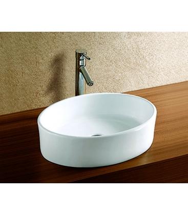 Lavoar incastrat Sanotechnik K305, Dimensiuni 36 x 50 x 14, Ceramica, Alb
