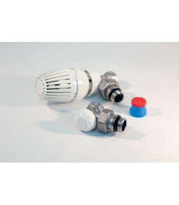 """Set Robineti calorifer, Tur termostatabil, Retur, Cap termostatat, GIACOMINI , 1/2"""""""