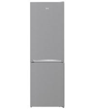 Combina frigorifica Beko RCNA366K40XBN, Clasa E, Capacitate 324 l, Neofrost™ Dual Cooling, H 186 cm, Argintiu