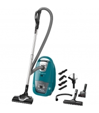 Aspirator cu sac Rowenta Silence Force RO7762EA, Putere 450 W, Capacitate 4.5 l, Hygiene+, Albastru marin