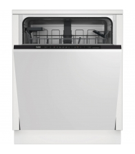 Masina de spalat vase incorporabila Beko DIN36420, Clasa A++, Capacitate 14 seturi, 6 programe, Motor ProSmart Inverter, Alb