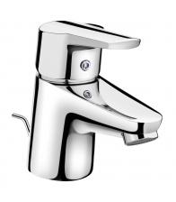 Baterie baie pentru lavoar Kludi D-Vise 371810590, Monocomanda, Cartus ceramic, Limitator apa fierbinte, Cromat