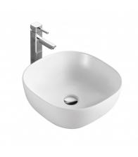 Lavoar Sanotechnik K420, Dimensiuni 41 x 41 x 14.7, Ceramica, Alb