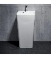 Lavoar Sanotechnik WS02, Dimensiuni 45 x 44.5 x 83 cm, Ceramica, Alb