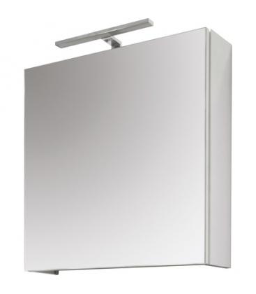 Oglinda baie Sanotechnik Stella 21800, Cu dulapior mobila, Dimensiuni 60 x 60 x 15, Gri