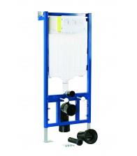 Rezervor WC Sanotechnik Infinity SP200 incastrat, Capacitate 3/6 L