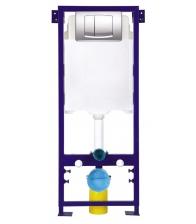 Rezervor WC Sanotechnik Infinity SP116 incastrat cu cadru metal, Capacitate 3/6 L