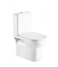 WC Sanotechnik Rimless R3030 cu rezervor, Alb
