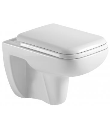 WC Sanotechnik Rimless RW5050 suspendat, Alb