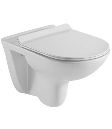 WC Sanotechnik Rimless RW6060 suspendat, Alb