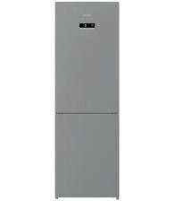 Combina frigorifica Arctic AK60366E40NFMT, Clasa A++, Capacitate 324 l, No Frost, Air Flow Dual Tech, H 185.2 cm, Argintiu