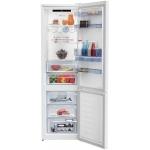 Combina frigorifica Beko RCNA406E40DZWN, Clasa A++, Capacitate 362 l, NeoFrost™ Dual Cooling, Everfresh+®, H 203 cm, Alb