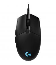 Mouse Gaming Logitech G Pro Hero, Optic, Rezolutie 16000 dpi, Negru