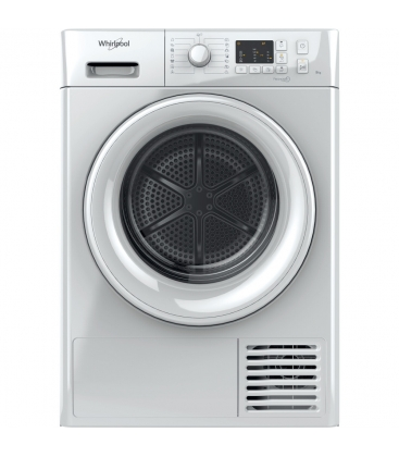 Uscator de rufe cu condensare Whirlpool FTCM108BEU, Clasa B, Capacitate 8 Kg, FreshCare+, Alb