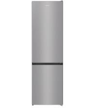 Combina frigorifica Gorenje NRK6201ES4, Clasa A+, Capacitate 331 l, No Frost Plus, IonAir cu Multiflow 360°, AdaptCool, Argintiu