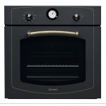Cuptor incorporabil Indesit IFVR 800 H AN, Clasa A, Capacitate 65 l, 8 functii, Grill, Functie pizza, Timer, Iluminare, Antracit