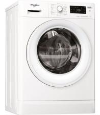 Masina de spalat rufe slim Whirlpool FWSG 71283 WV EE N, Clasa A+++, Capacitate 7 Kg, 6th Sense, FreshCare+, Steam, Alb