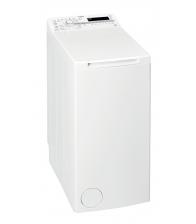 Masina de spalat rufe cu incarcare verticala Whirlpool TDLR 55020S, Clasa A++, Capacitate 5.5 Kg, 6th Sense, FreshCare+, Alb