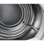 Uscator de rufe cu pompa de caldura Electrolux EW7H437P, Clasa A+, Capacitate 7 Kg, Senzor umiditate, Alb