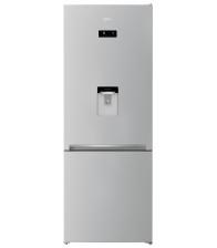 Combina frigorifica Beko RCNE560E40DZMN, Clasa A++, Capacitate 497 l, Neofrost™ Dual Cooling, Dozator apa, Everfresh+, Gri