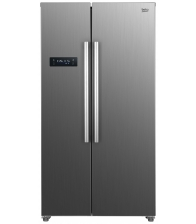 Frigider Side by Side Beko GNO4331XPN, Clasa A++, Capacitate 436 l, Neofrost™ Dual Cooling, Display touch, Inox