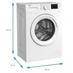 Masina de spalat rufe Beko WUE6512BWW, Clasa A+++, Capacitate 6kg, Alb