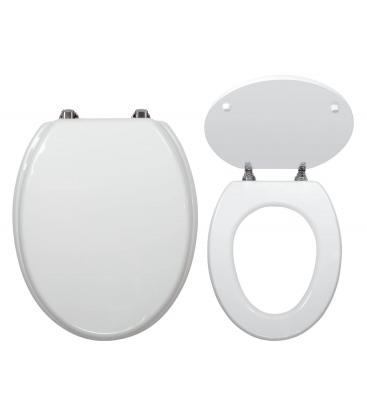 Capac WC Ferro WC/Bila, lemn, alb