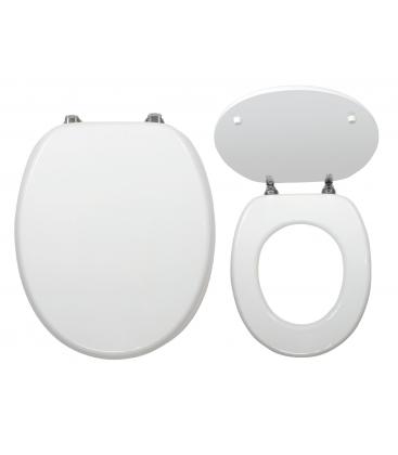 Capac WC Ferro WC/Bila, MDF, Alb