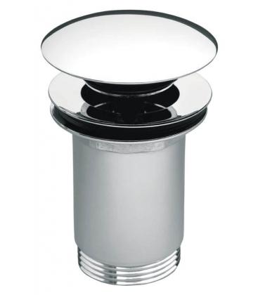 Ventil de scurgere FERRO S288PPCB, click-clack, dop ceramic negru