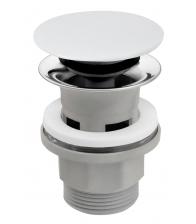 Ventil de scurgere FERRO S288PPC, Click-clack, Preaplin, D1¼, Dop ceramic alb