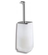 Portperie WC Metalia 4 6433/1.0, Stativa, Sticla alba