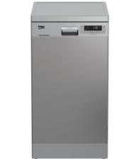 Masina de spalat vase Beko DFS26024X, Clasa E, Capacitate 10 seturi, 6 programe, Prespalare, Inox
