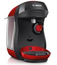 Espressor BOSCH Tassimo Happy TAS1003, Putere 1400 W, Capsule T Disc, Capacitate 0.7 l, Rosu
