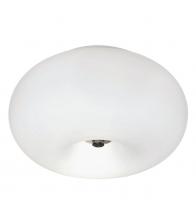 Plafoniera Eglo Optica 86811, 2x 60 W, Diametru 28 cm, Otel, Alb