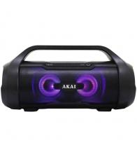 Boxa Portabila Akai ABTS-50, Bluetooth, Cititor de carduri, USB, Radio FM, Negru